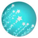 White Stars / Melamine Plates (<em>$25.50</em>)