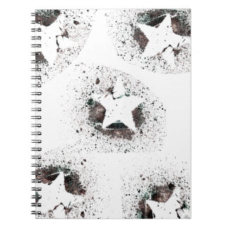 White Stars Notebook