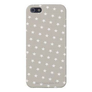 White Stars Pattern Case For iPhone SE/5/5s