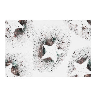 White Stars Placemat