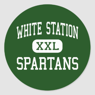 White Station - Spartans - High - Memphis Stickers