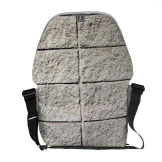 White Stone Brick Courier Bag