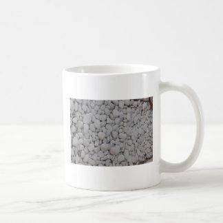 white stones coffee mug