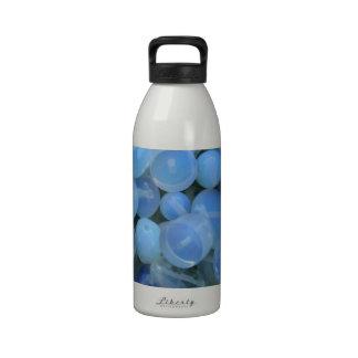 white stones water bottle