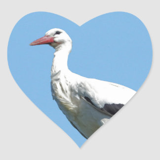 White Stork 2.0 (Storch) Heart Sticker