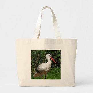 White Stork Bird Bags