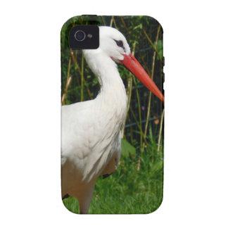 White Stork Bird Vibe iPhone 4 Covers