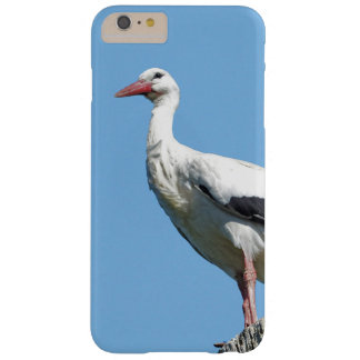 White Stork with blue sky 002 Barely There iPhone 6 Plus Case
