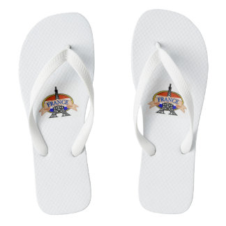 White Strap Slipper Flip Flops