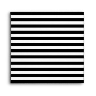 White Striped Envelope