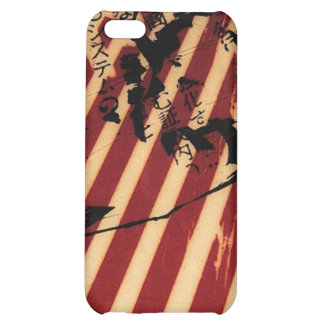 white stripes iPhone 5C cover