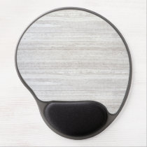 White Stroke Marble Gel Mouse Pad