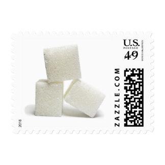White Sugar Lump Candy Desert Stamp