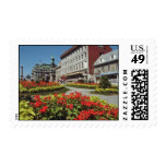White Summer blooms, Montreal flowers Stamps