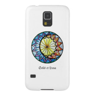 White Sun and Moon Phone Case