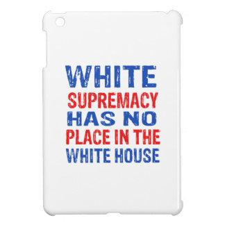 white supremacy design iPad mini covers