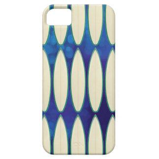 white surfboard pattern iPhone 5 case