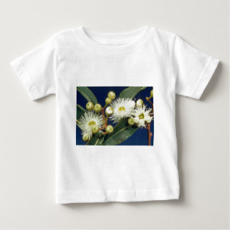 white Swamp mahogany (Eucalyptus robusta) flowers Tee Shirts