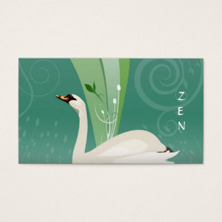 White Swan Business Card