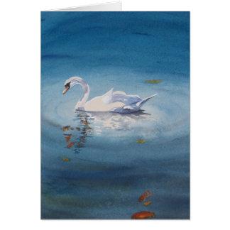 White Swan Card