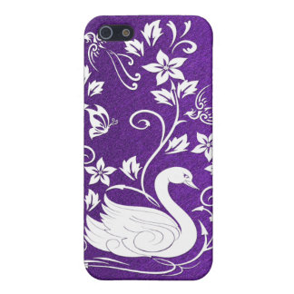 White Swan Case For iPhone SE/5/5s