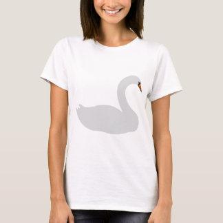 white swan icon T-Shirt