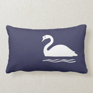 White Swan Lumbar Pillow