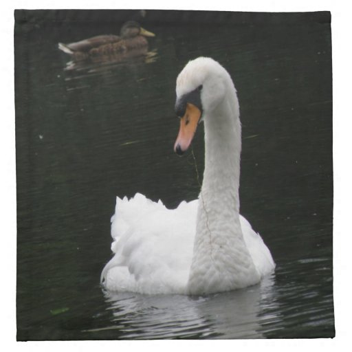 White Swan Napkin