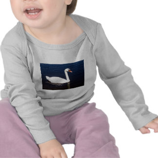 White swan on still waters shirt