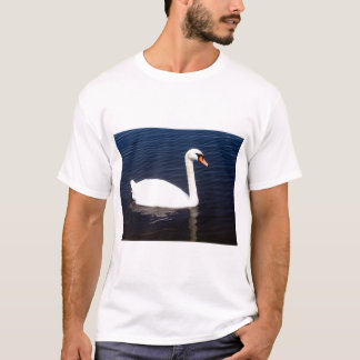White swan on still waters T-Shirt