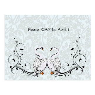 White Swan RSVP Postcard