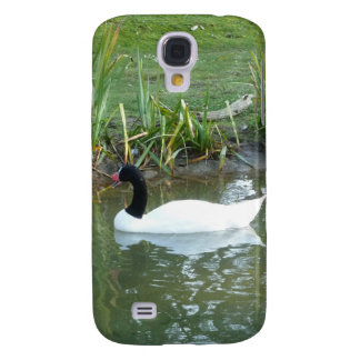 White Swan Samsung Galaxy S4 Cover