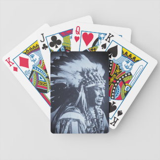 White Swan Sioux Indian Chief Vintage Playing Cards