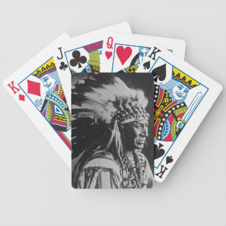 White Swan Sioux Indian Chief Vintage Deck Of Cards