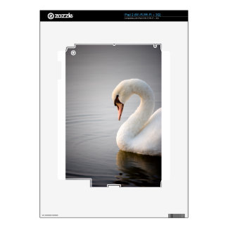 White Swan Decal For The iPad 2