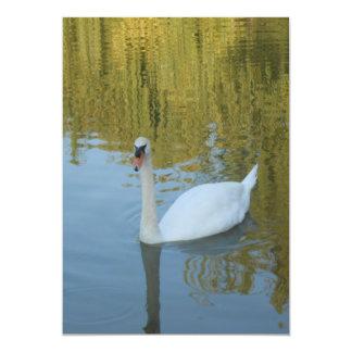 White Swan Wedding Invitations