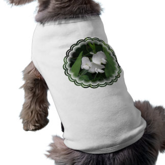 White Sweet Pea Pet Shirt