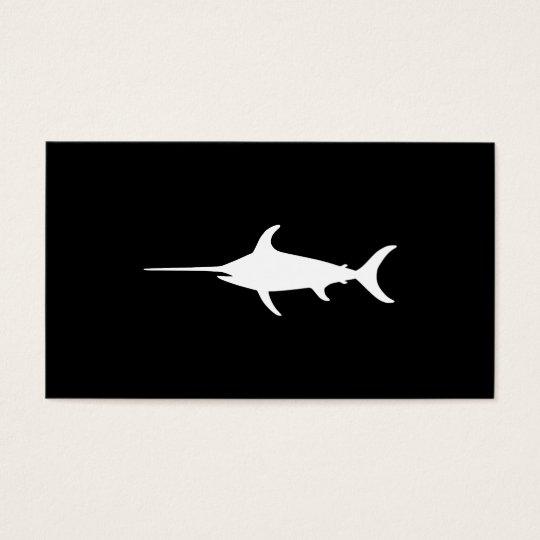 White Swordfish Business Card