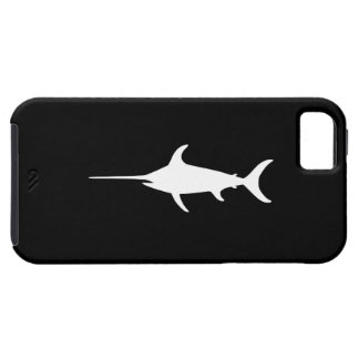 White Swordfish iPhone SE/5/5s Case