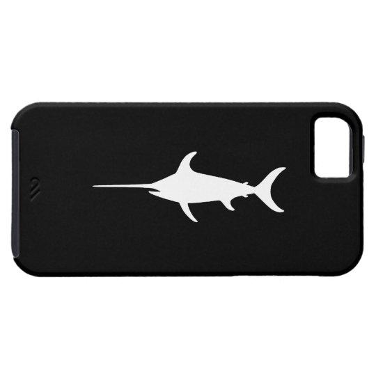 White Swordfish iPhone SE/5/5s Case