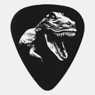 White T Rex Guitar Pick