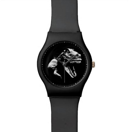 White T Rex Wristwatch