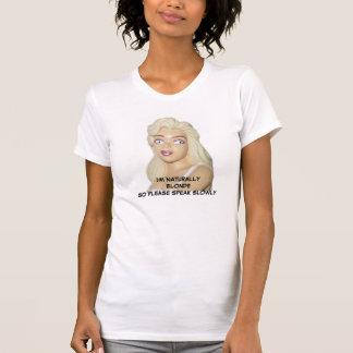 White T-Shirt - Blondes Retro 50s