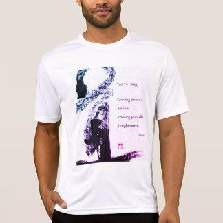 White t-shirt Masculine Taoismo LaoZi