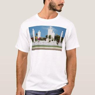 White t-shirt, the Monument T-Shirt