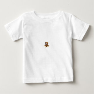 White T-Shirt with bear design