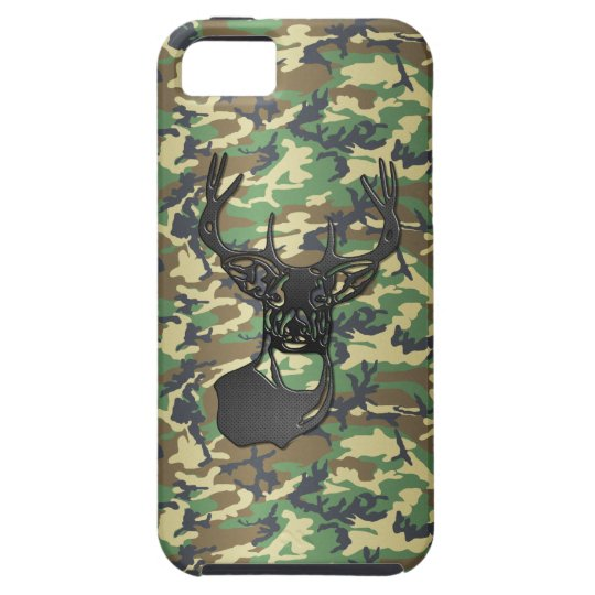 White Tail Buck Deer - Camo iPhone SE/5/5s Case