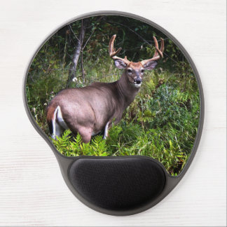 White Tail Buck Photography Gel Mousepad