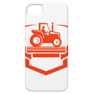 White Tail Deer Antler Tractor Retro iPhone SE/5/5s Case