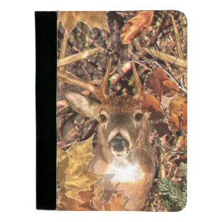 White Tail Deer Head Fall Energy Spirited on a Padfolio